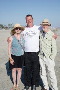 Ginio, Josh and Sid in Long Beach