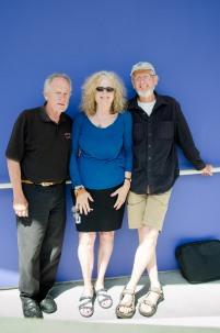 Tony, Ginio, Sid in Santa Monica